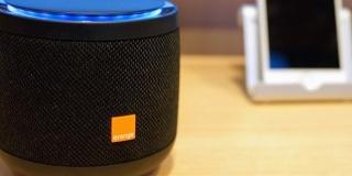 Photo d'un Speaker Djingo avec sa jolie couleur bleue
